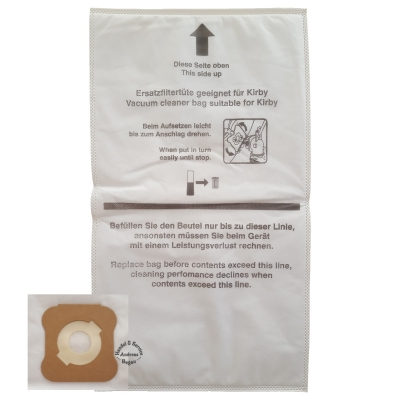 Original Kirby Micron Magic Allergen Filter / Staubsaugerbeutel G8 Ultimate Diamond Edition & G10 Sentria