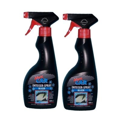 2 x 500ml Klaro Car Deicer Spray / De - Icer