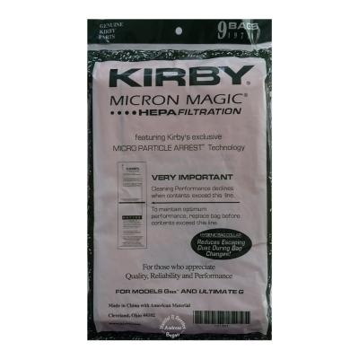 Original Kirby Filter 9er pack Herstellungsserie G6 / G7 Ultimate