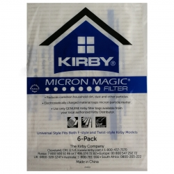 Original Kirby Filter / Staubsaugerbeutel 6er pack Allergen Hepa Filter Serie Twin & F-Style