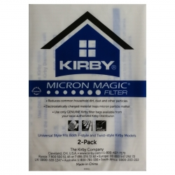 Original Kirby Filter 2er pack Allergen Hepa Filter Serie Twin & F-Style