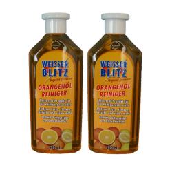 2 x 500ml Weisser Blitz Liquid Power - Orangen Öl Reiniger Konzentrat / Universalreiniger