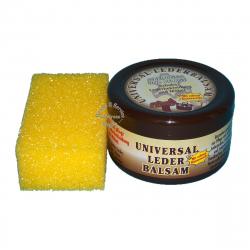 2 x 250ml Universal Lederbalsam mit echtem Bienenwachs / Bienen - Wachs + Schwamm