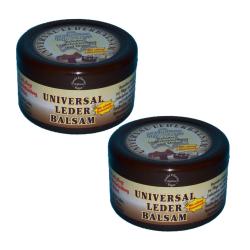2 x 250ml Universal Lederbalsam mit echtem Bienenwachs / Bienen - Wachs