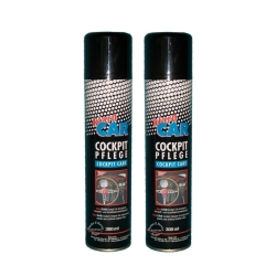 2 x 300ml Klaro Car Cockpit Care - Car Care