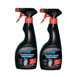 2 x 500ml Klaro Car Wheel Cleaner / Wheel Remover