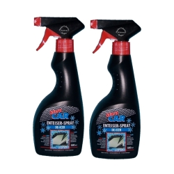 2 x 500ml Klaro Car Deicer Spray / De - Icer