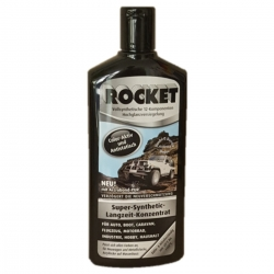 Car Polish ROCKET Polish Color - Active long - Concentrate Black Bottle 500ml