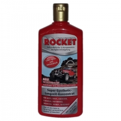 Car Polish ROCKET Polish Color - Active long - Concentrate Red Bottle 500ml