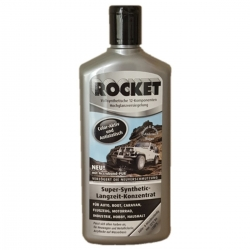 Car Polish ROCKET Polish Color - Active long - Concentrate Silver Bottle 500ml