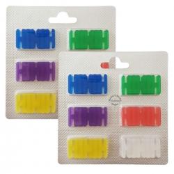 2 x 6 Duftchips Mix 6 Düfte für Vorwerk Kobold 130-131-135-136-140 und Tiger 260