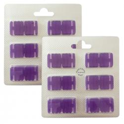 2 x 6 Duftchips Duft Lavendel für Vorwerk Kobold 130-131-135-136-140 und Tiger 260