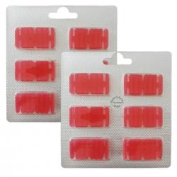 2 x 6 Duftchips Duft Rose für Vorwerk Kobold 130-131-135-136-140 und Tiger 260