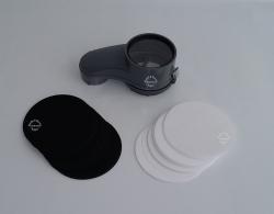 Original Kirby Schauglas mit 50 Weißen + 50 Schwarze  Filtern passend für G3- G11 Sentria II - Avalir 2